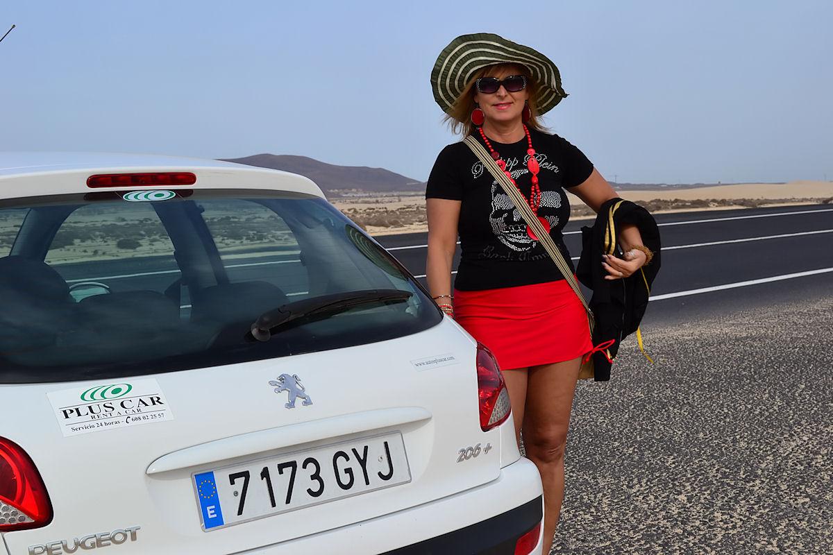 Mit dem Leihwagen auf Fuerteventura