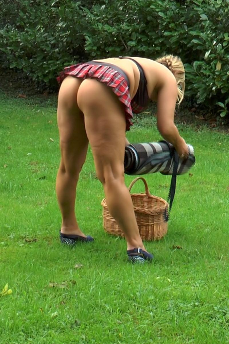 Stripped nackt im öffentlichen Video
