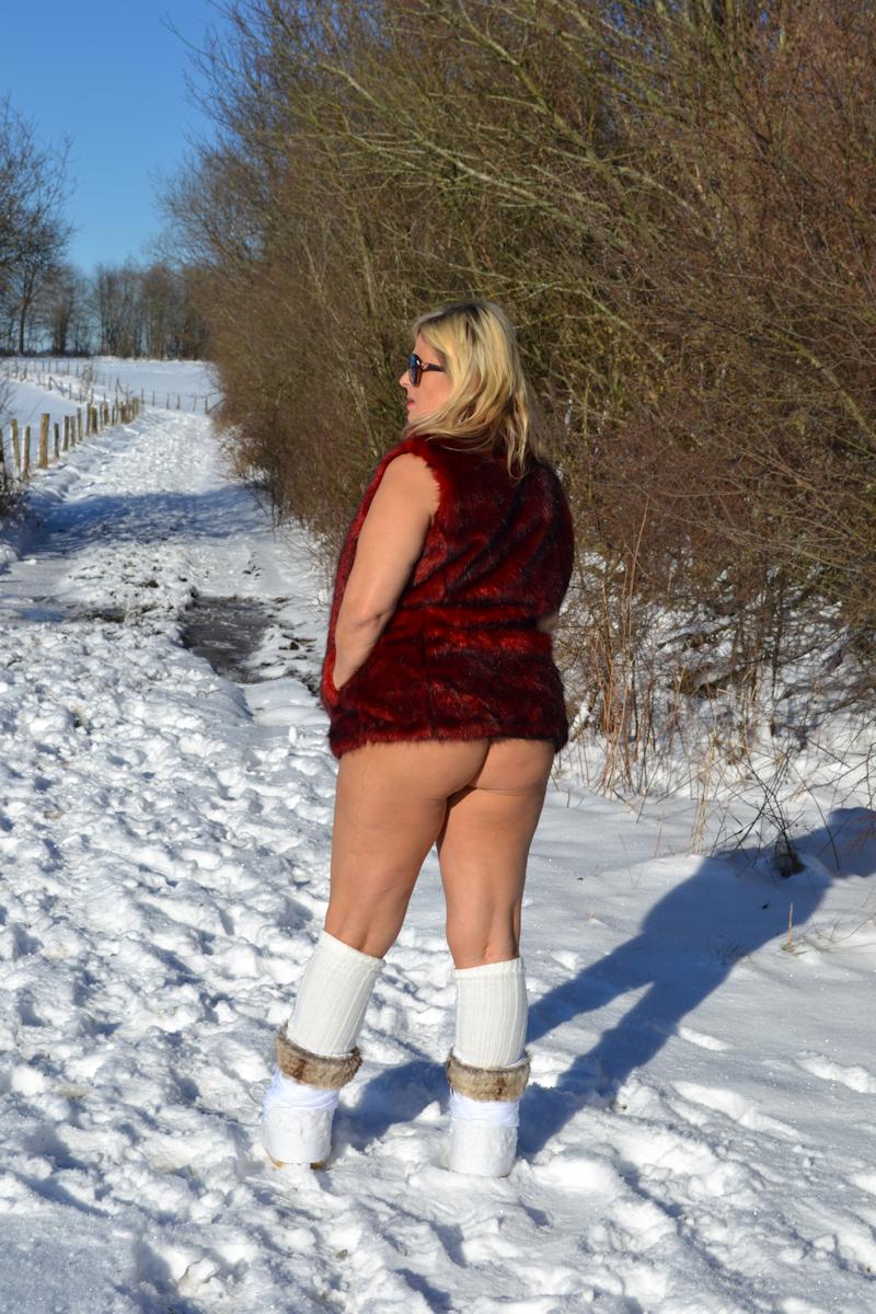 Warten auf die ersten Schneebilder